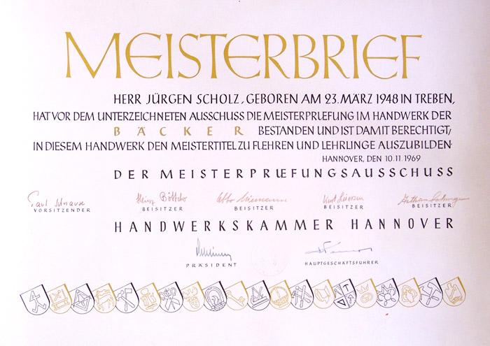 Meisterbrief-Juergen-Scholz